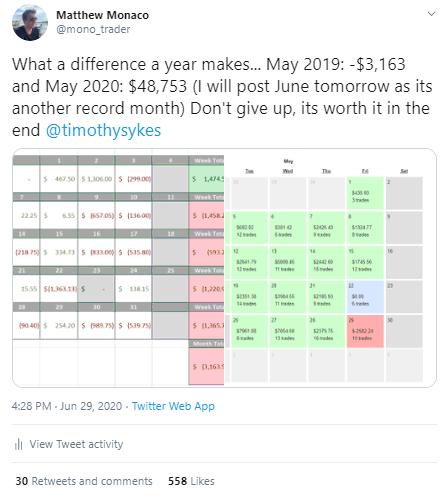 Matt Monaco Tweet