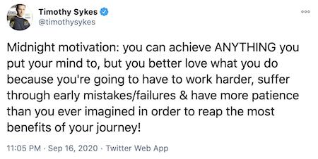 Sykes Tweet
