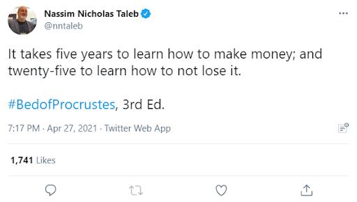 Taleb 5 and 25