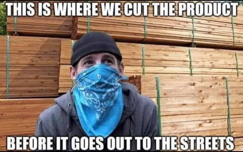 cut the product